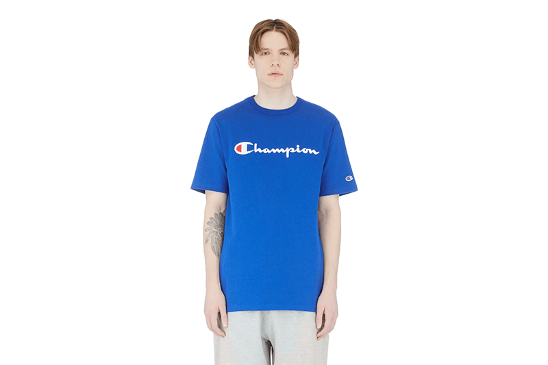 HERITAGE TEE ELEVATED GRAPHICS - T1919G MENS SOFTGOODS CHAMPION