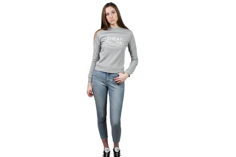 WIN SWEAT WOMENS SOFTGOODS CHEAP MONDAY GREYMELANGE XS 476025