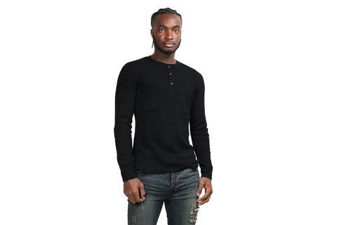 KNIT THERMAL HENLEY-WI-3218