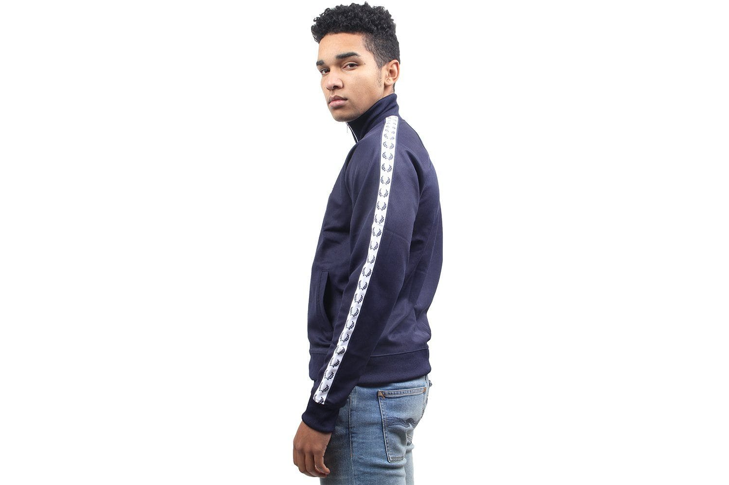 TAPED TRACK JACKET MENS SOFTGOODS FRED PERRY