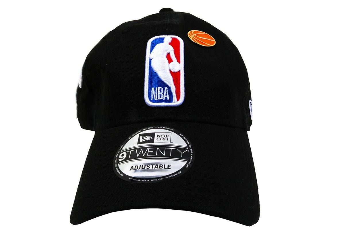 NBA 18 DRAFT 920 NBA LOG OTC HATS NEW ERA BLACK ONE SIZE