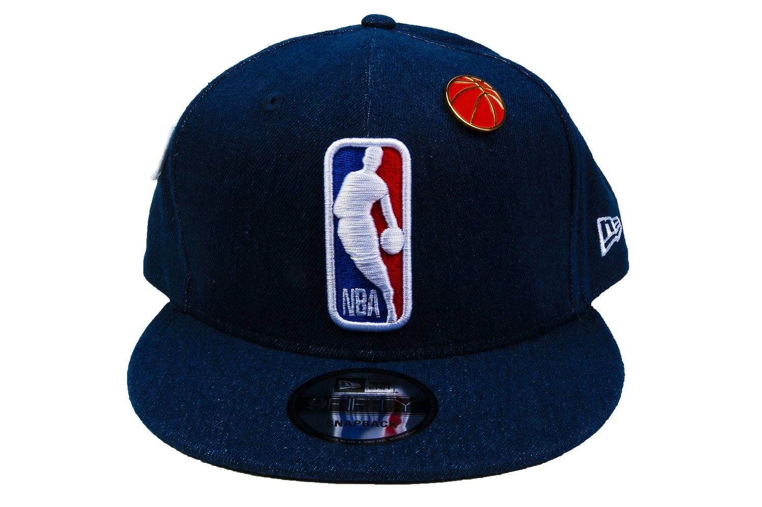 NBA 18 DRAFT 950 NBA LOG XBL HATS NEW ERA NAVY ONE SIZE