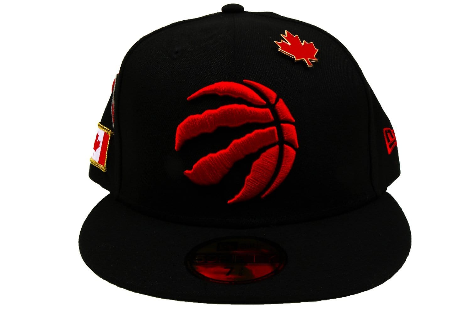 NBA 18 DRAFT 5950 TORONTO OTC HATS NEW ERA BLACK 7 1/4