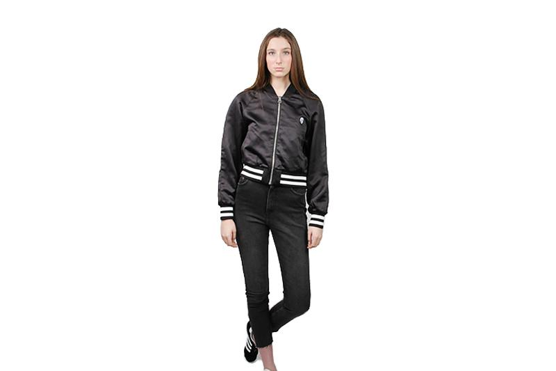 HEART JACKET WOMENS SOFTGOODS CHEAP MONDAY BLACK XS 481301