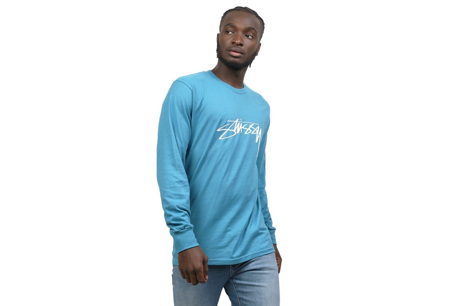 SMOOTH STOCK LS TEE - 1994288 MENS SOFTGOODS STUSSY