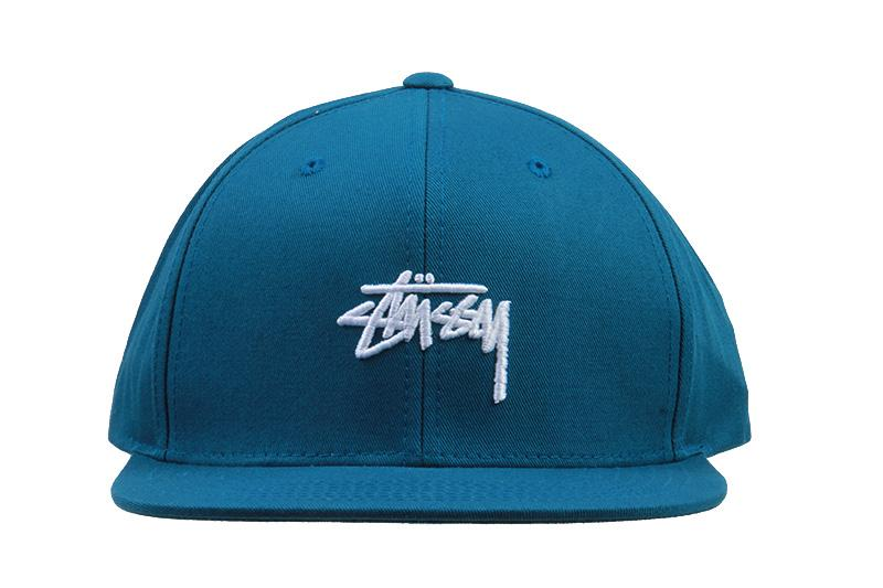 STOCK SP18 CAP HATS STUSSY TEAL O/S 131780