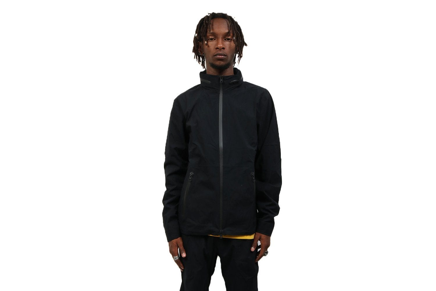 MENS WOVEN STRETCH NYLON N279 STOW AWAY HOOD - RC-4110 MENS SOFTGOODS REIGNING CHAMP