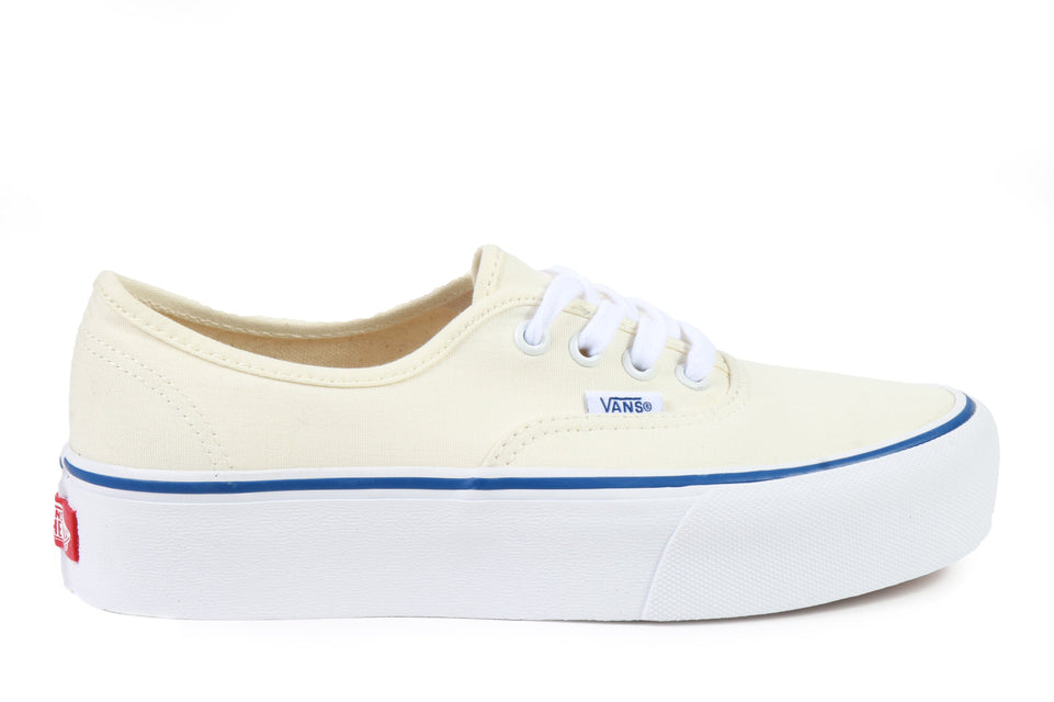 AUTHENTIC PLATFORM (CANVAS) - VN0A3AV8JTT WOMENS FOOTWEAR VANS CLASSIC WHITE/ TRUE WHITE 6 VN0A3AV8JTT