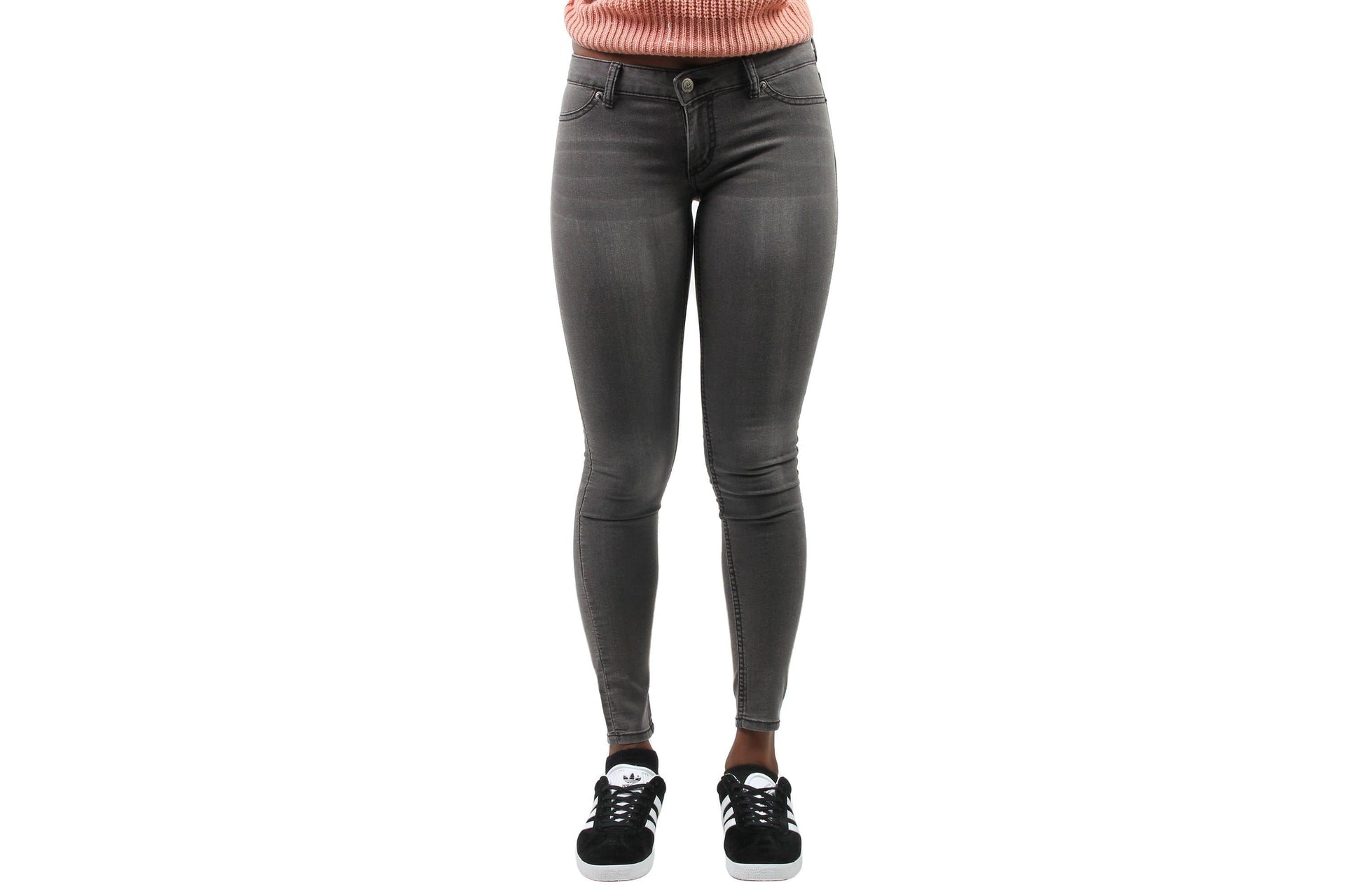 LOW SPRAY PANT WOMENS SOFTGOODS CHEAP MONDAY GREAT GREY 26-27
