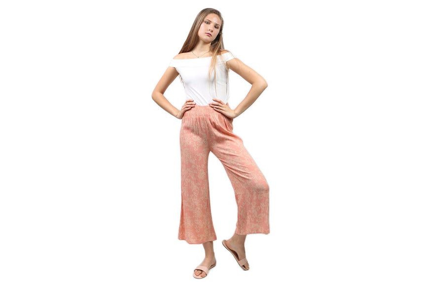 COASTING ALONG PANT WOMENS SOFTGOODS AMUSE SOCIETY PINK XS