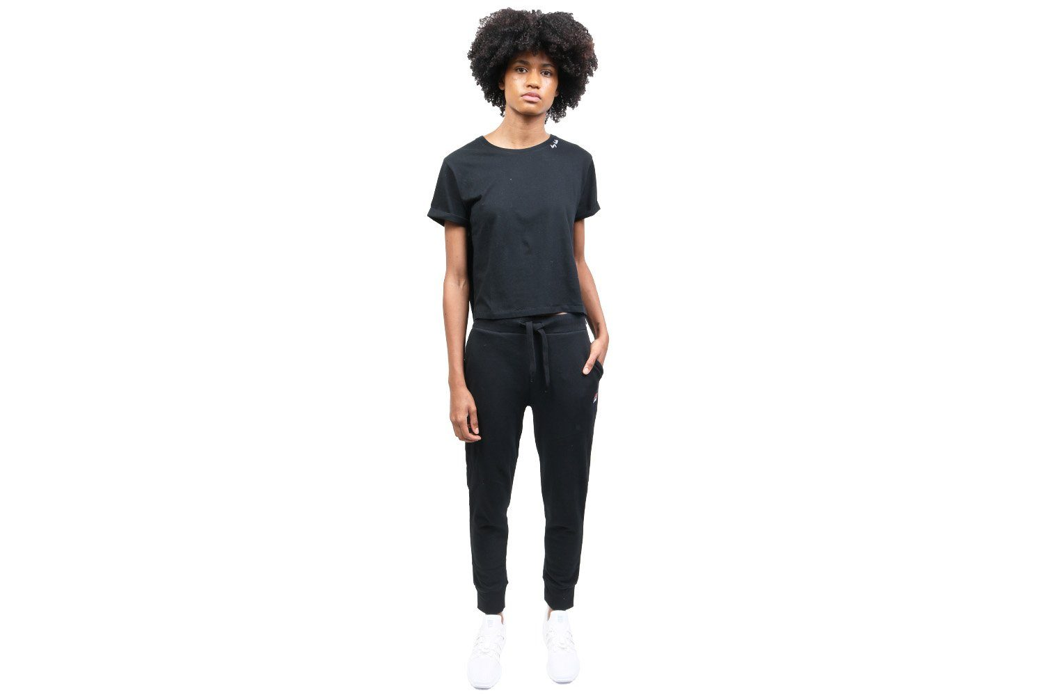 HEY BABE CROPPED TEE WOMENS SOFTGOODS BITNB