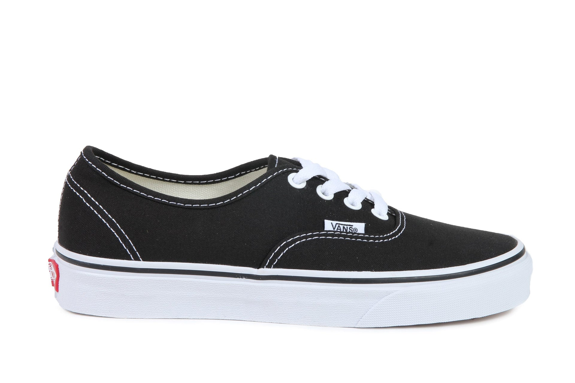 AUTHENTIC - VN000EE3BLK WOMENS FOOTWEAR VANS BLACK 6 VN000EE3BLK
