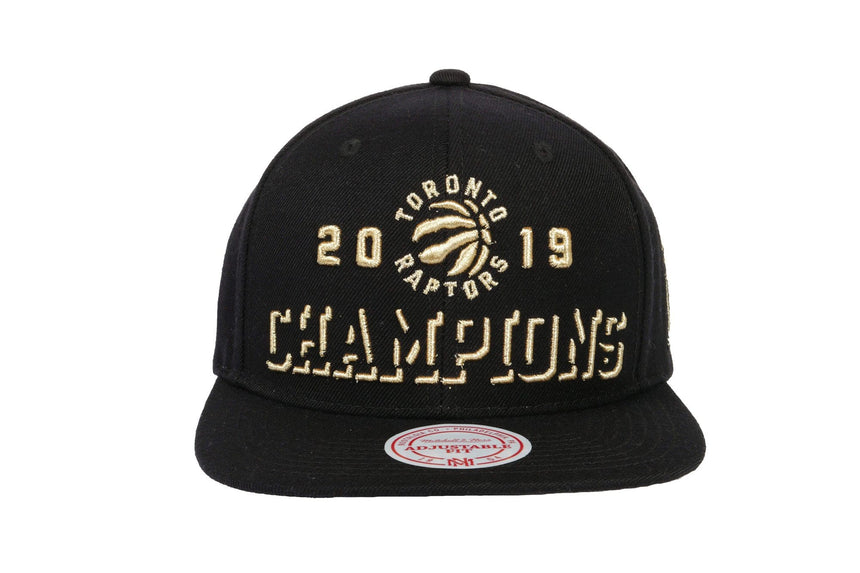 NBA RAPTORS 2019 CHAMPS SN HATS MITCHELL & NESS