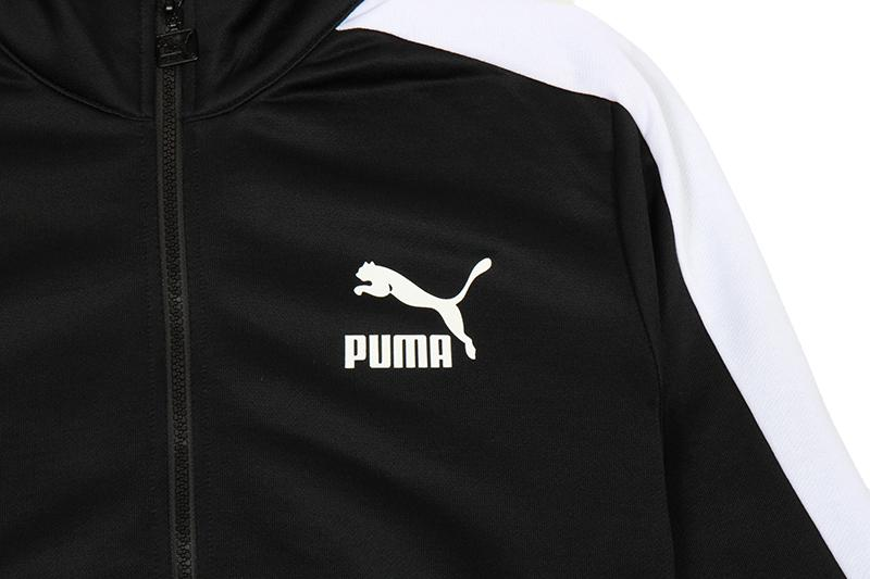 ARCHIVE T7 TRACK JACKET - BLACK MENS SOFTGOODS PUMA