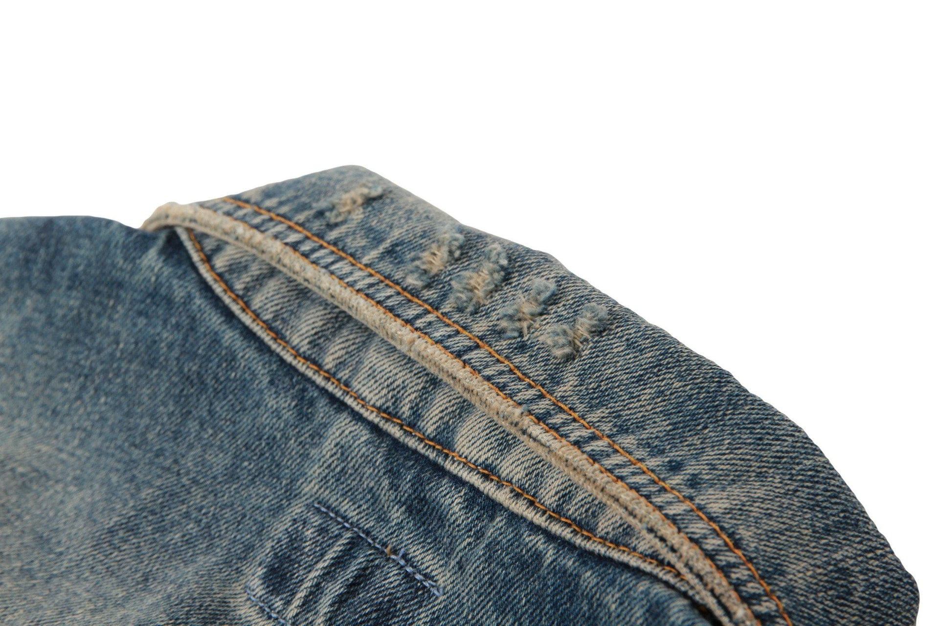 BILLY SHIMMERING INDIGO DENIM MENS SOFTGOODS NUDIE JEANS