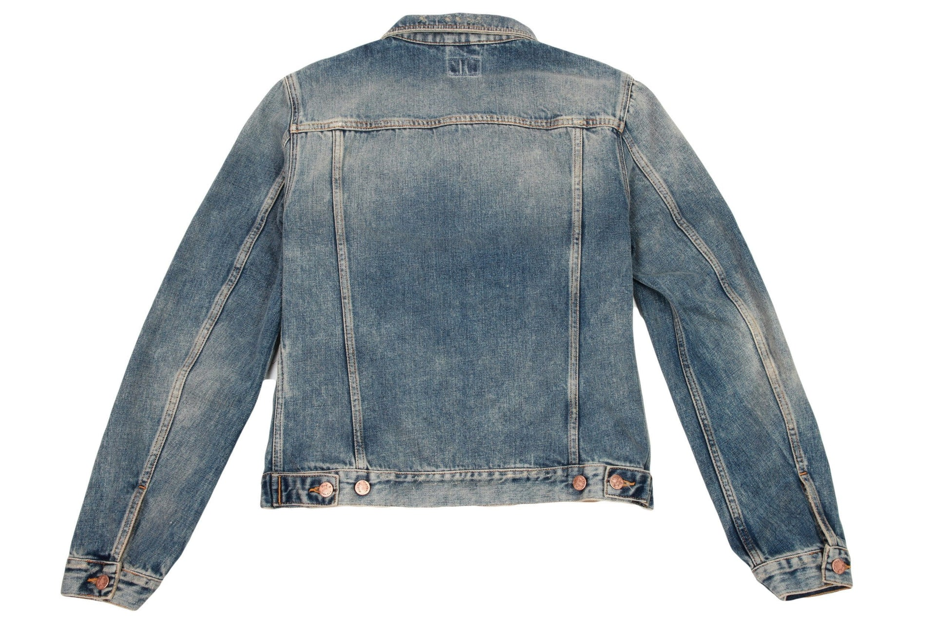 BILLY SHIMMERING INDIGO DENIM
