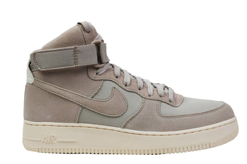 AIR FORCE 1 HIGH '07 SUEDE- AQ8649-001 MENS FOOTWEAR NIKE SESERT SAND/ DESER SAND SAIL 10