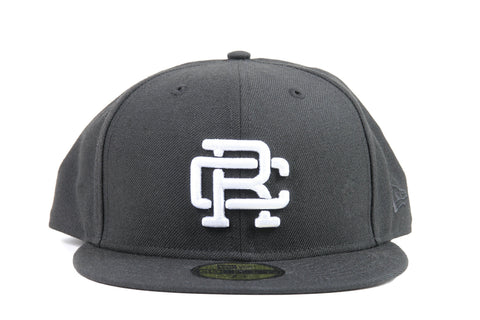 BLACK WOVEN NEW ERA RC EMBROIDERED HAT RC-7052