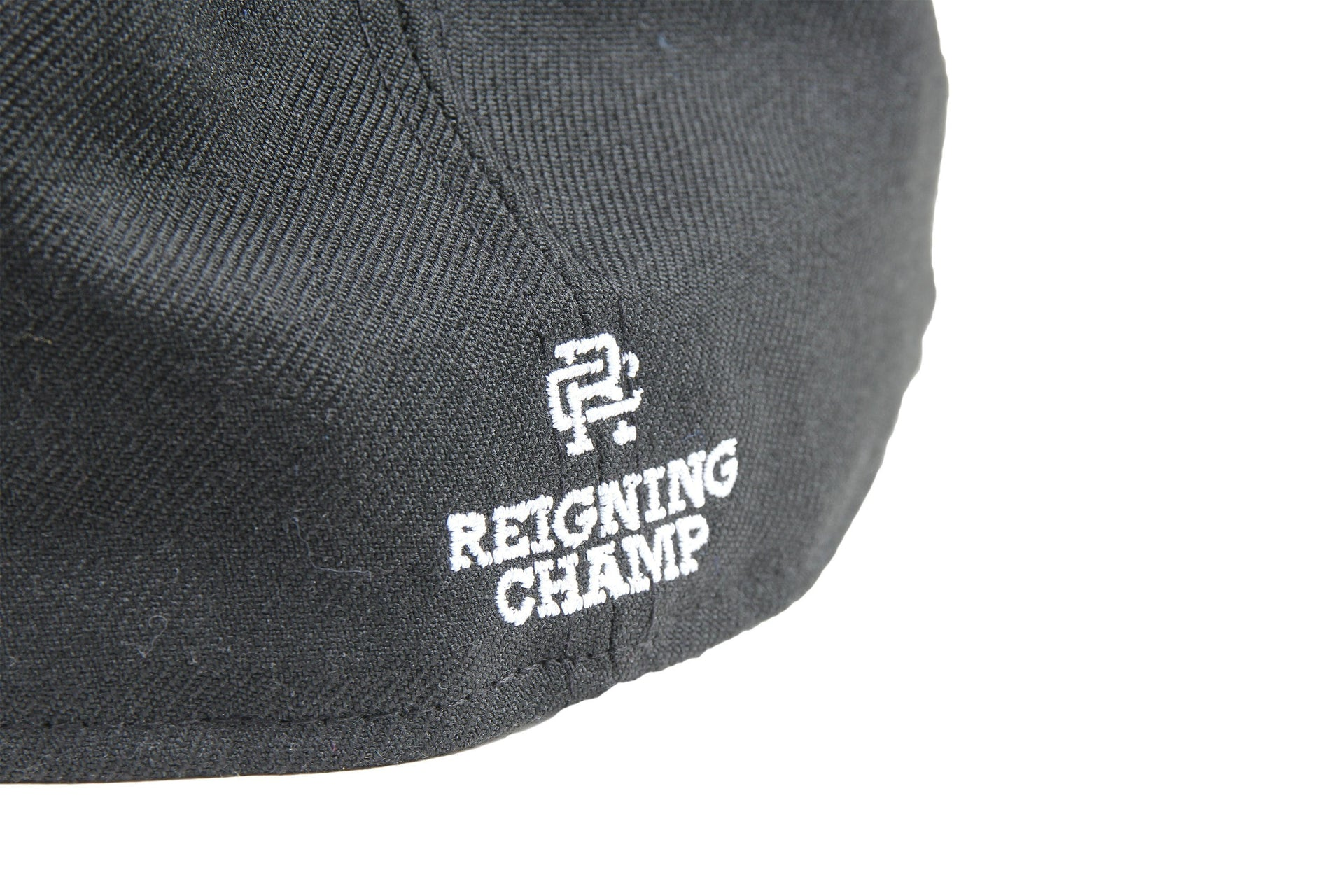 BLACK WOVEN NEW ERA RC EMBROIDERED HAT RC-7052 HATS REIGNING CHAMP
