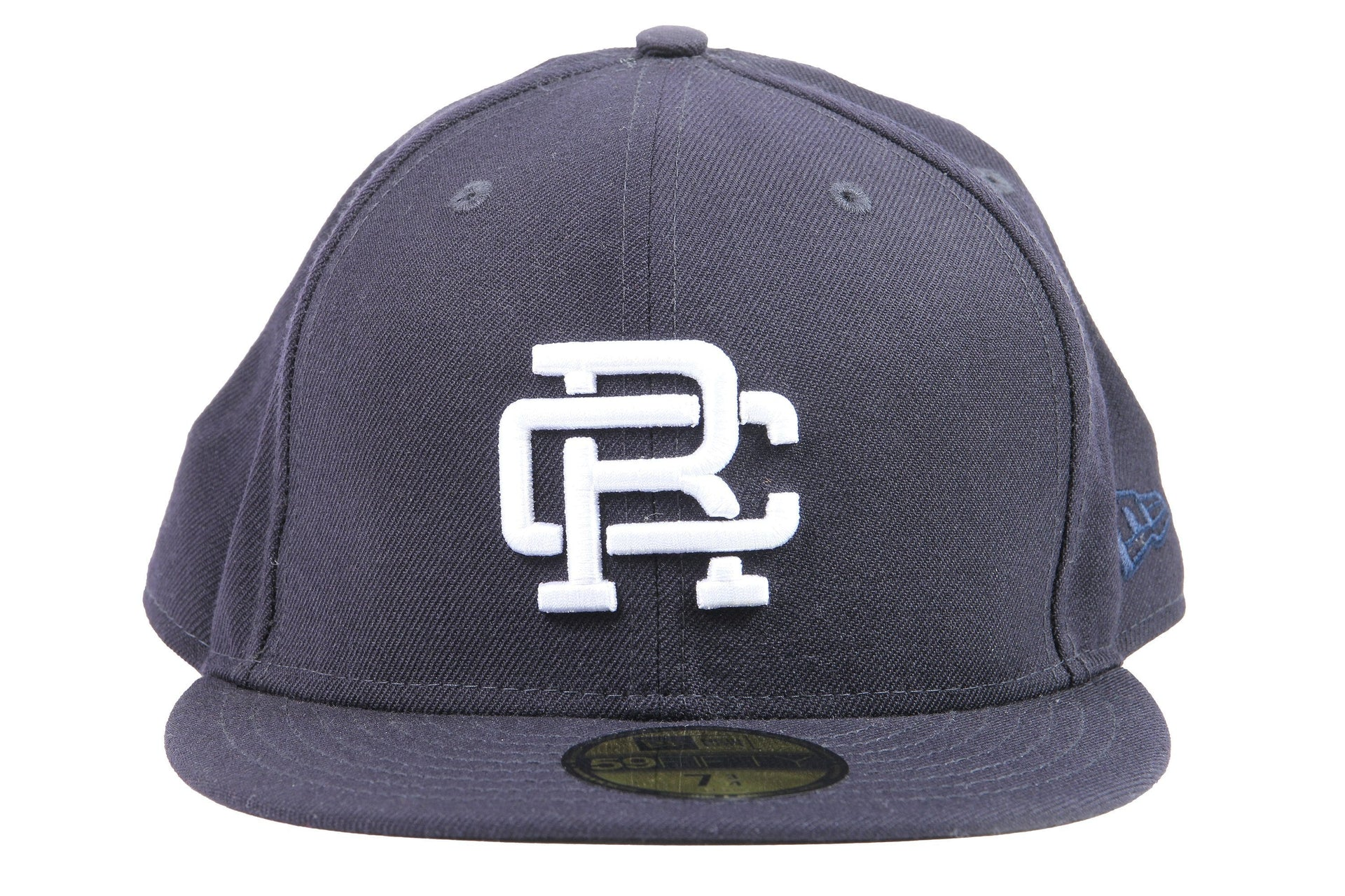 1a067c18558 NAVY WOVEN NEW ERA RC EMBROIDERED HAT RC-7052 HATS REIGNING CHAMP NAVY 7 3