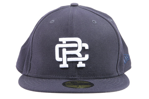 NAVY WOVEN NEW ERA RC EMBROIDERED HAT RC-7052