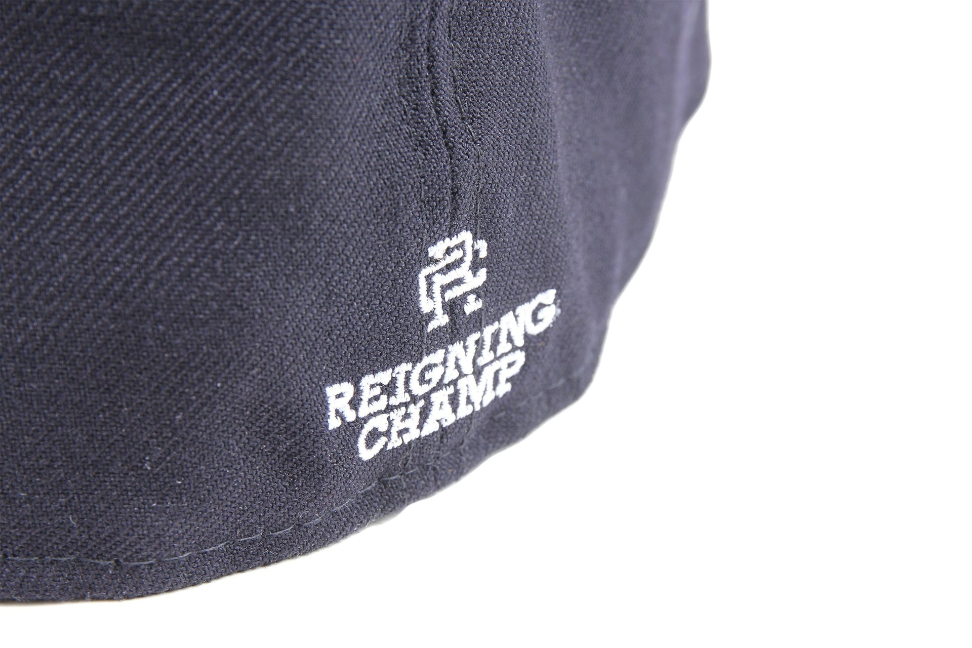 NAVY WOVEN NEW ERA RC EMBROIDERED HAT RC-7052 HATS REIGNING CHAMP