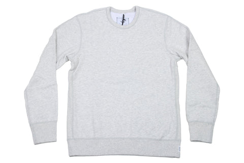 H.ASH KNIT MID WT TERRY LONG SLEEVE CREWNECK RC-3207
