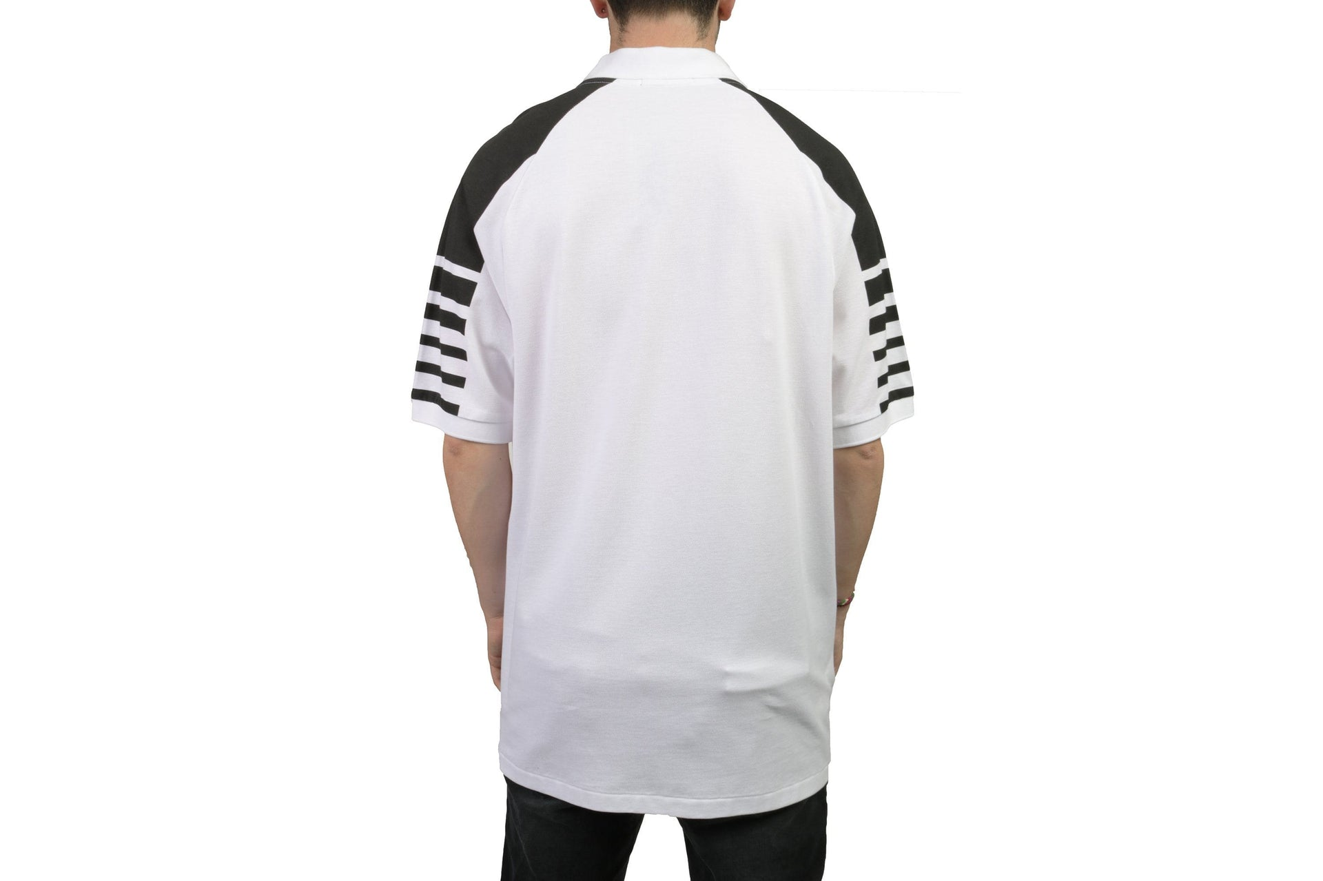 BLOCK GRAPHIC PIQUE SHIRT MENS SOFTGOODS FRED PERRY