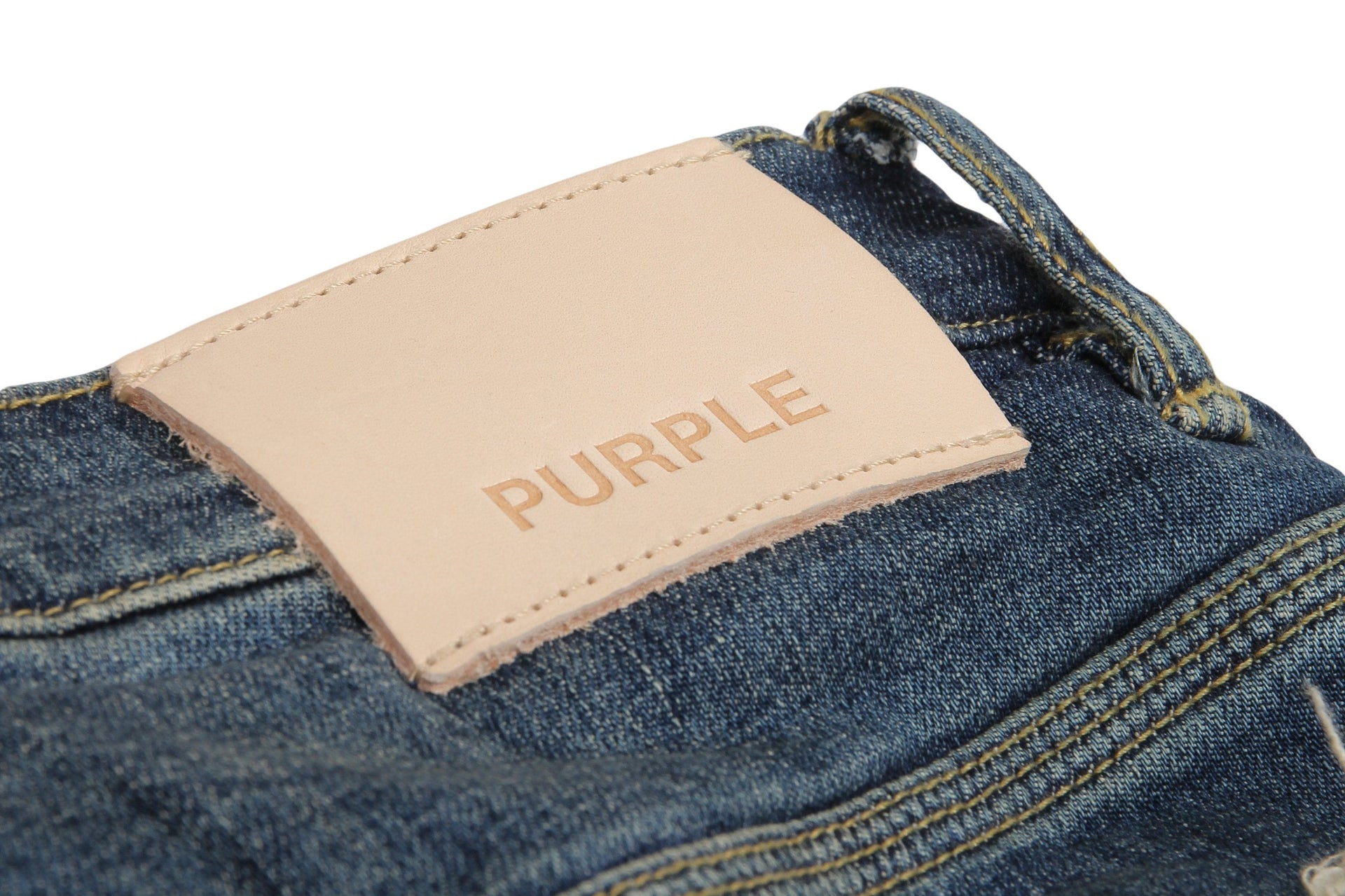 DROPPED FIT - THREE YEAR WASH MENS SOFTGOODS PURPLE JEANS