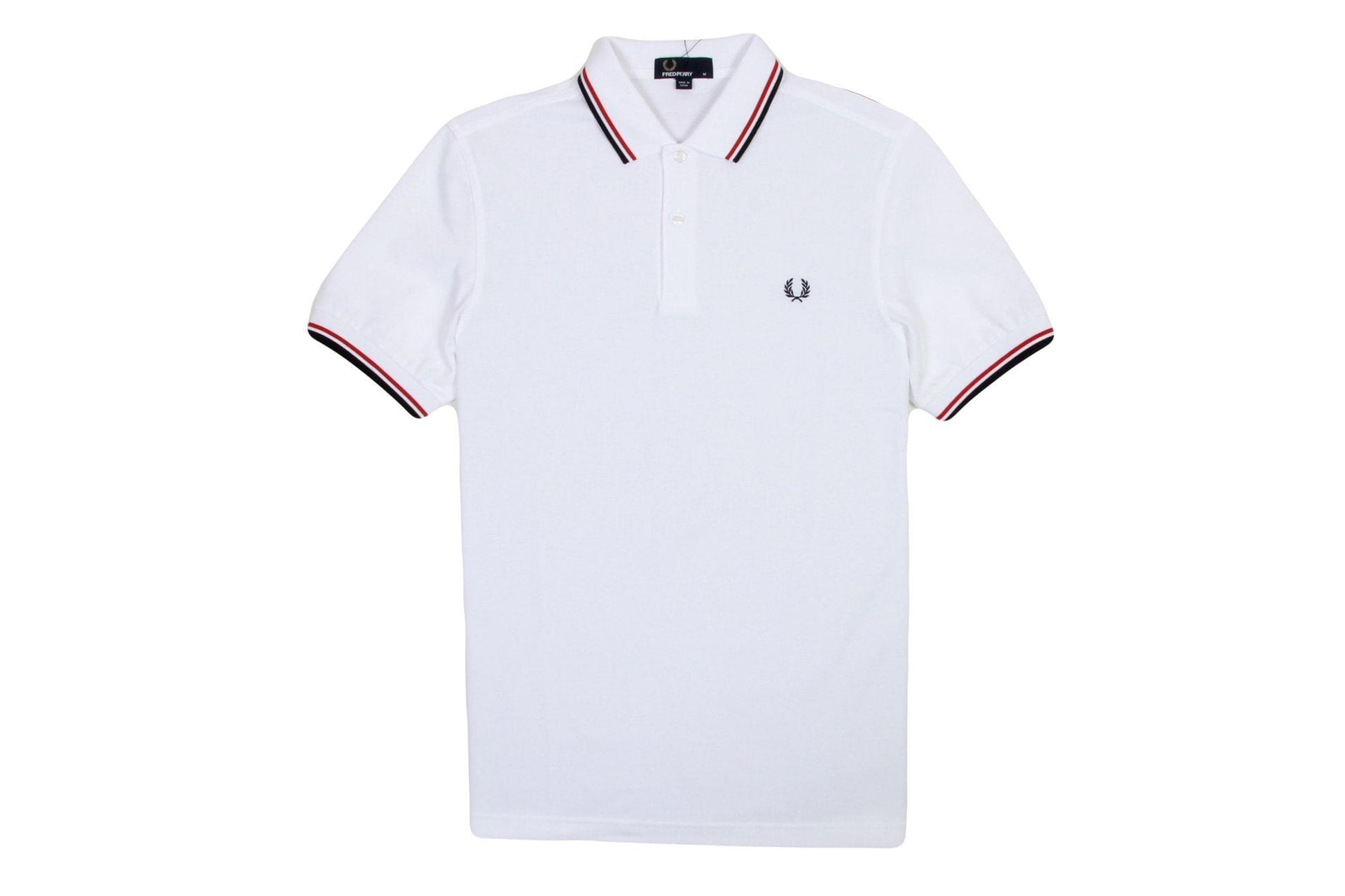 TWIN TIPPED SHIRT FRED PERRY NRML MEN MAN MENS