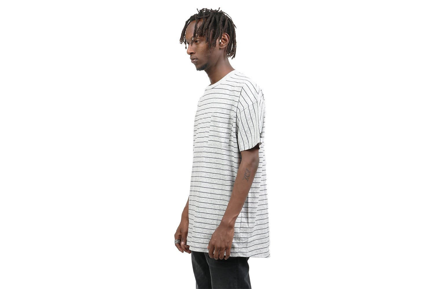 STRIPE RUGGER TEE 147-FT MENS SOFTGOODS ZANEROBE