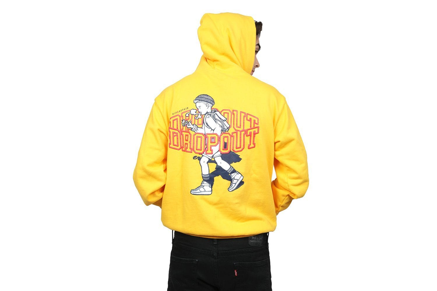 DROP OUT HOODIE MENS SOFTGOODS RIP N REPAIR