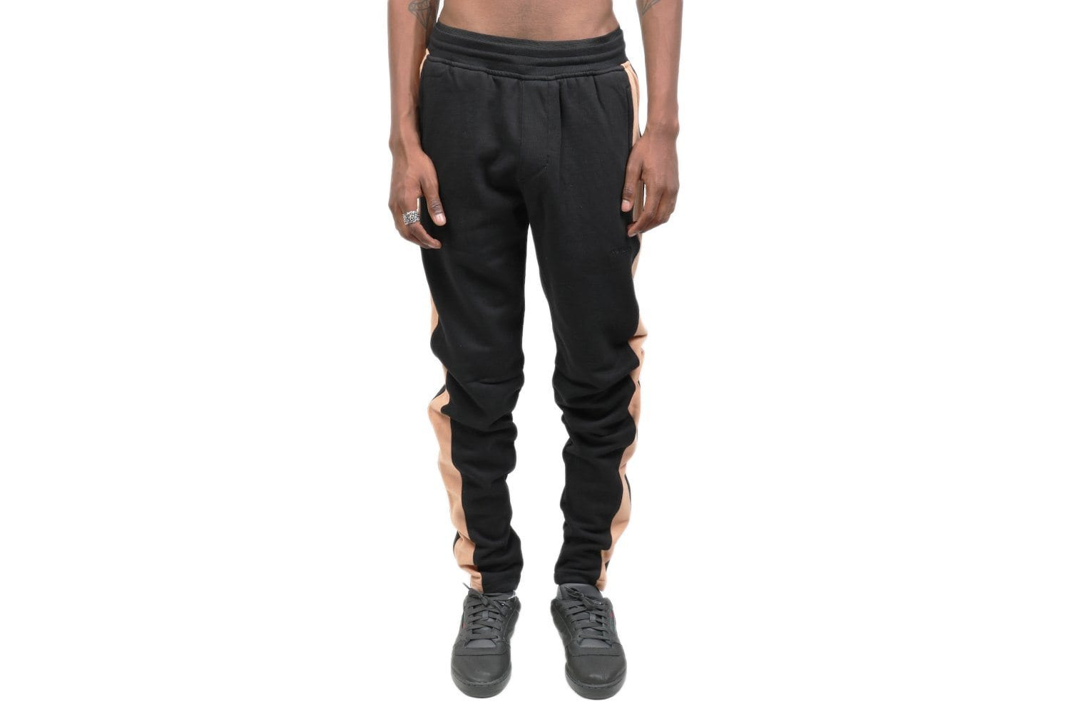 JUMPSHOT TRACKPANT 701-FT MENS SOFTGOODS ZANEROBE BLACK/BISCUIT 30