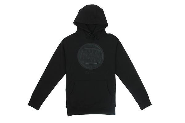 NRML EMBROIDERED BASKETBALL HOODIE MENS SOFTGOODS NRML BLACK M