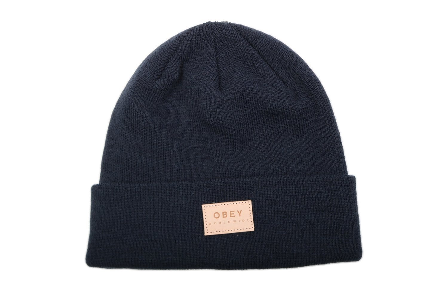 W BRIEAN BEANIE - 200030075 WOMENS HATS OBEY DARK INDIGO ONE SIZE