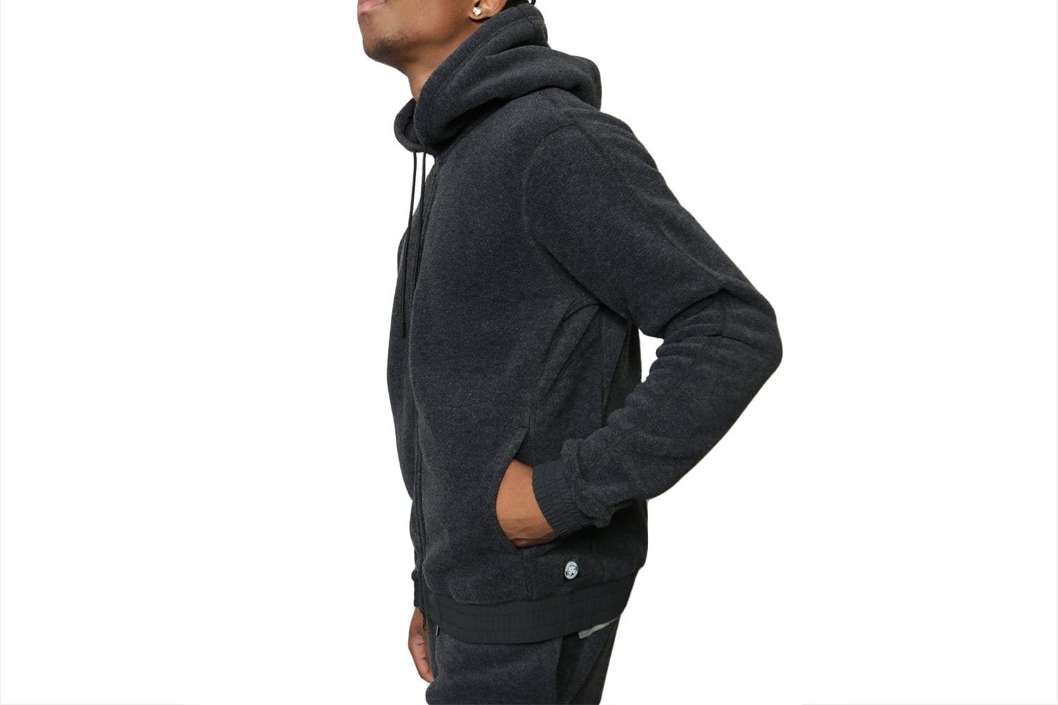 KNIT POLARTEC FLEECE FULL ZIP HOODIE - RC-4142 MENS SOFTGOODS REIGNING CHAMP
