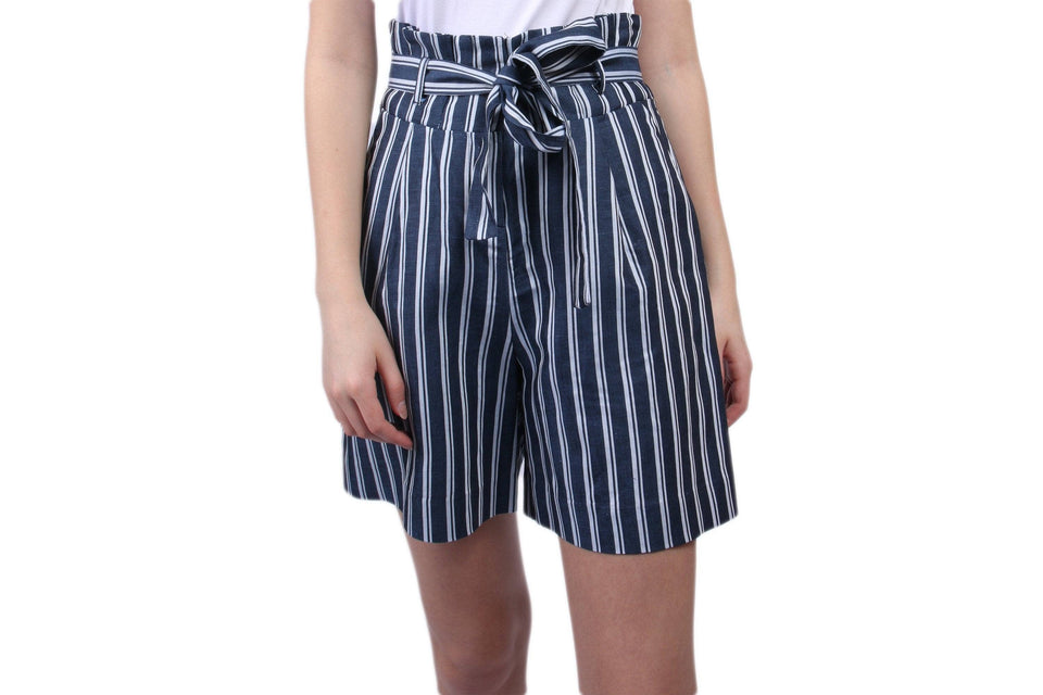 ANNY SHORTS WOMENS SOFTGOODS JUST FEMALE BLUE STRIPE XS 10983