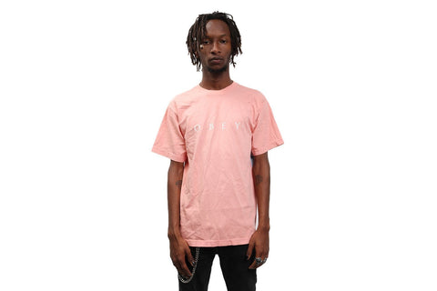 NOVEL OBEY CLASSIC BOX TEE CORAL-166911578
