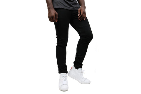 510 SKINNY  BLACK DENIM PANTS-055104173