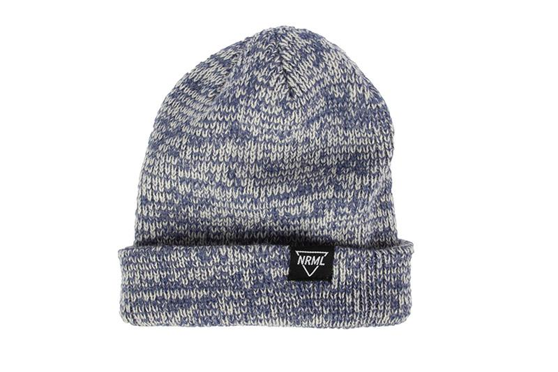 NRML BEANIE HEATHER BLUE HATS NRML