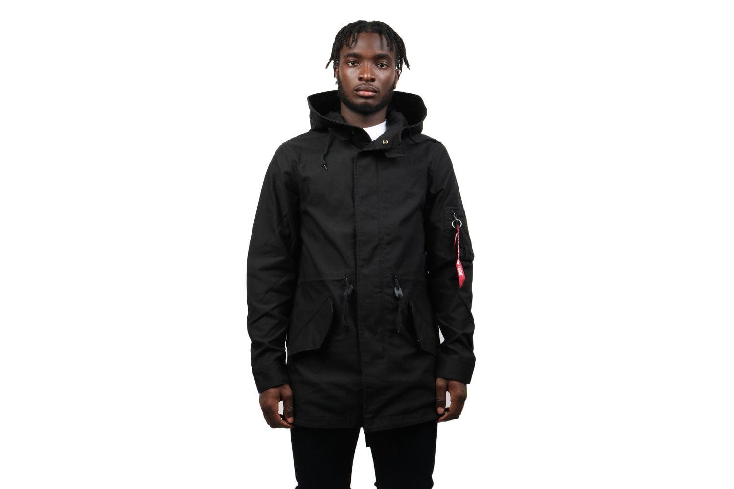 M-59 FISHTAIL JACKET MENS SOFTGOODS ALPHA INDUSTRIES BLACK M