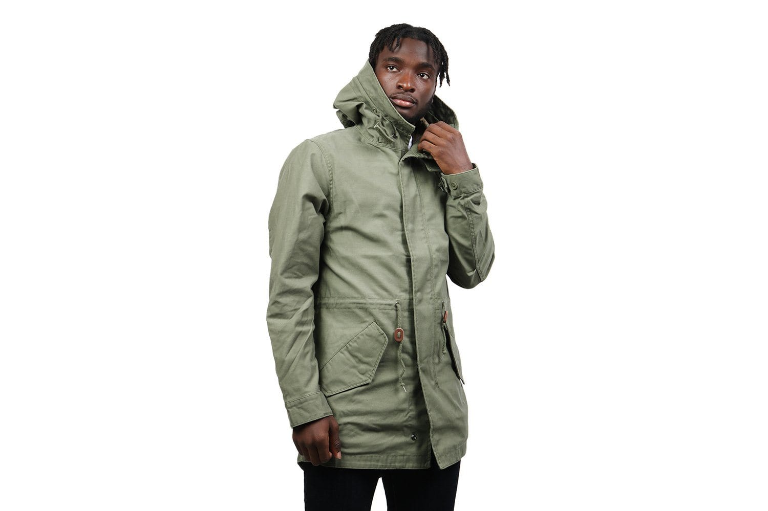 M-59 FISHTAIL JACKET MENS SOFTGOODS ALPHA INDUSTRIES OLIVE M
