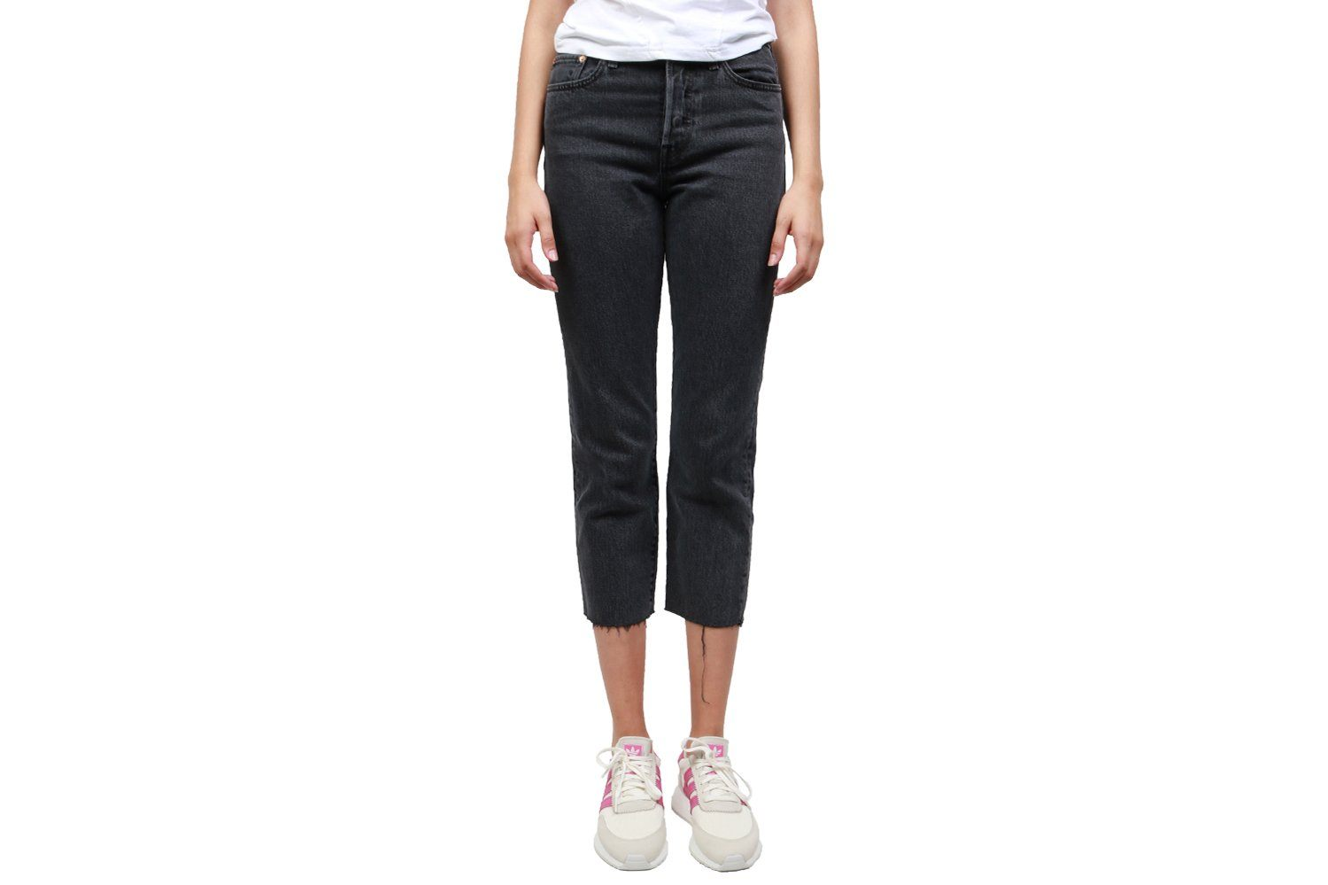WEDGIE STRAIGHT WOMENS SOFTGOODS LEVIS 3496400040 BLACK 25