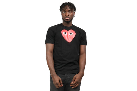 BIG HEART TEE MENS SOFTGOODS COMME DES GARCONS