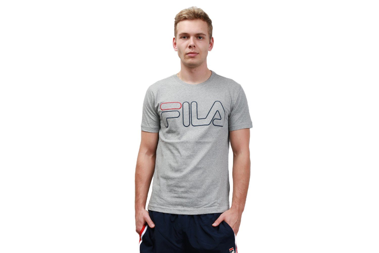 BOROUGH TEE- LM171B43 MENS SOFTGOODS FILA