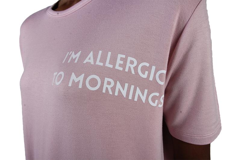 ALLERGIC TO MORNINGS PJ SET WOMENS SOFTGOODS SLEEP