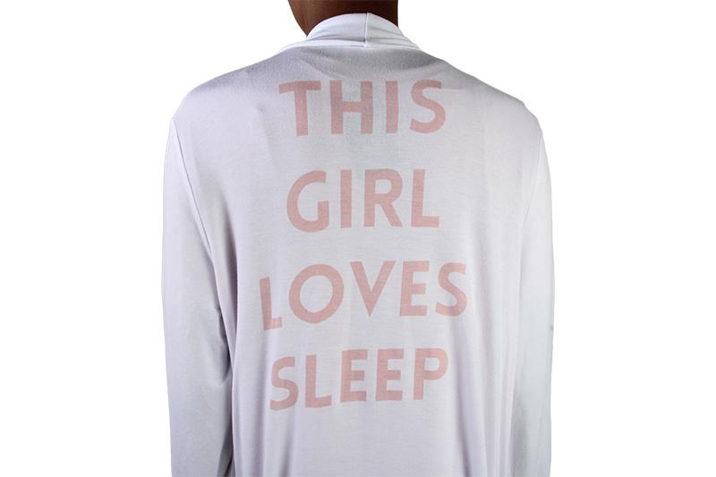 THIS GIRL GRAPHIC ROBE WOMENS SOFTGOODS SLEEP