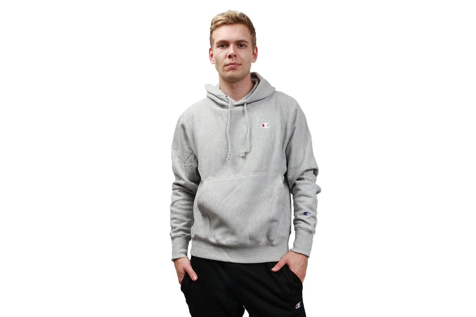 RW FLEECE PO HOOD 'C' CHEST - GF68 MENS SOFTGOODS CHAMPION