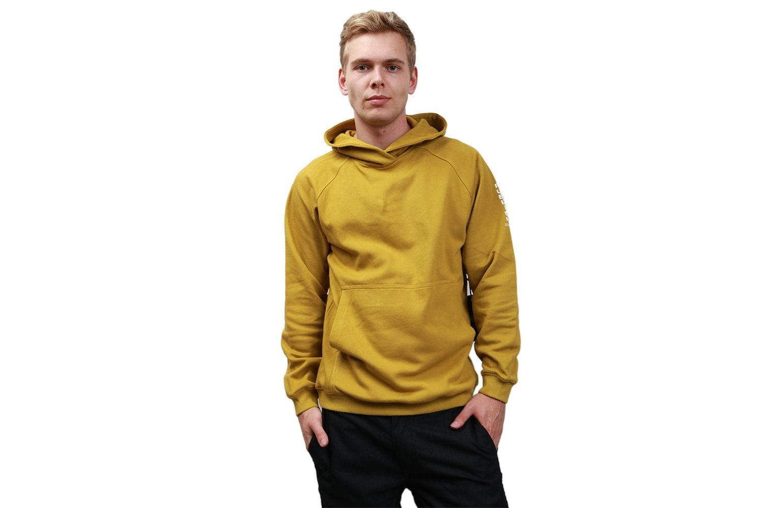 LEIGH FLEECE - P1806005 MENS SOFTGOODS PUBLISH MUSTARD XL