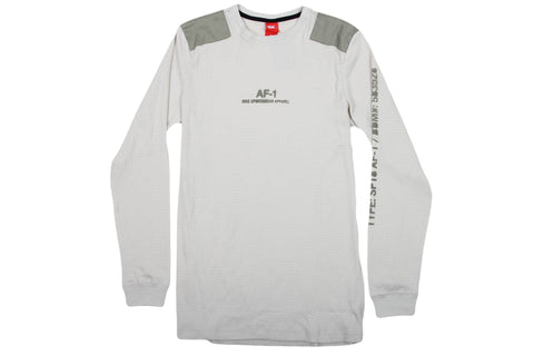 NIKE SPORTSWEAR TOP - LIGHT BONE